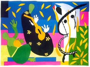 Jazz/La tristesse du roi - Matisse